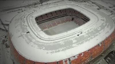 A 52 días de la Copa de Mundo, así está el Mordovia Arena de Saransk