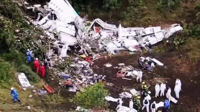 Sale a la luz la información de la caja negra del avión donde viajaba el Chapecoense