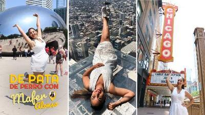 Mafer Alonso disfrutó 'por las nubes' su visita a Chicago