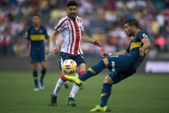 En fotos: Chivas se va en blanco ante Boca Juniors por la Colossus Cup