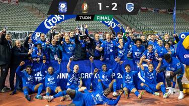 ¡Genk es campeón! Arteaga y McKenzie se coronan en la Copa de Bélgica
