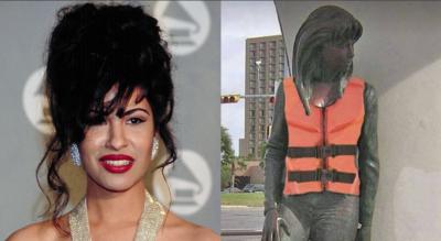 Ante la llegada de Harvey, Selena Quintanilla ya está a salvo por el amor de sus fans