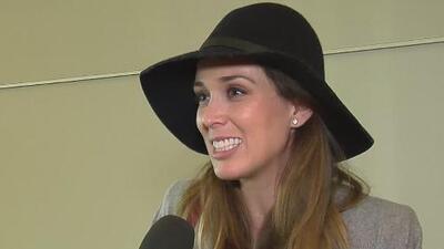 ¡Ya llegó a Las Vegas! Jacqueline Bracamontes está feliz por los Latin Grammys