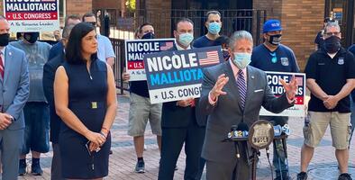 Sindicato de policías de NYC apoya a republicana Malliotakis en su campaña para el Congreso