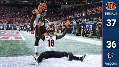 En el último suspiro los Bengals le arrancan el triunfo a los Falcons