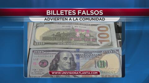 EN VIDEO: Billetes falsos circulan por una ciudad de Georgia