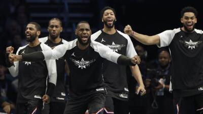 El Team LeBron, con una gran remontada, venció al Team Giannis en el NBA All Star Game