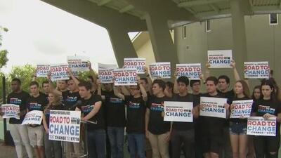 """""""No nos rendiremos ante la política sucia"""": March For Our Lives se convierte en una gira de dos meses para promover el voto"""