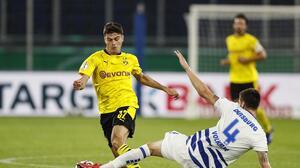 Inició la Pokal y Gio Reyna anota en goleada del Borussia Dortmund