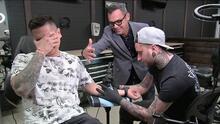 Régulo Caro llevará tatuado de por vida el logo de El Gordo y La Flaca gracias a este reto que aceptó