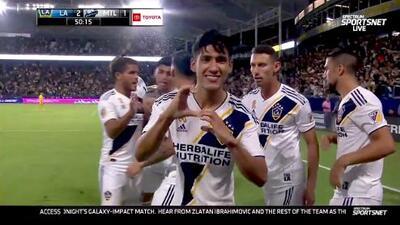 Uriel Antuna fusila al portero con un derechazo y le devuelve la ventaja a LA Galaxy