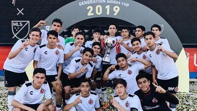 Yasser Corona gana título con la Sub-17 de Tijuana en Estados Unidos