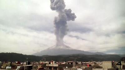 Alerta amarilla por actividad del volcán Popocatépetl en México