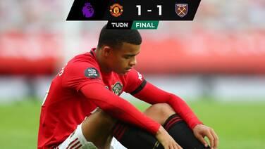 Manchester United no pudo con el West Ham pero sueña en Champions