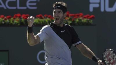 Juan Martín del Potro se corona en Indian Wells y rompe invicto de Roger Federer en 2018