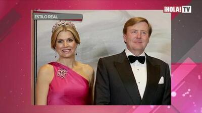 El argentino que viste a la Reina Máxima de Holanda
