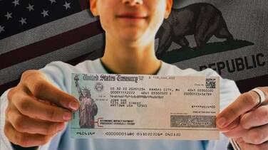 ¿Puedo recibir el estímulo de California junto al cheque de $1,400?