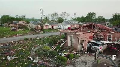 Overnight tornadoes ripped through Ohio and Indiana