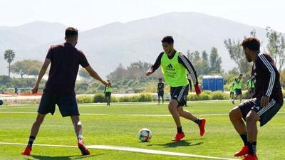 El Tri ya tuvo su primer entrenamiento con 'Tata' Martino en California