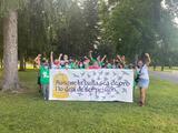 Activistas reclaman orden de liberación de emergencia para los inmigrantes detenidos en el centro Berks