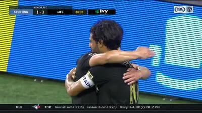 'Cracklitos' Vela sirve en bandeja de plata el cuarto del LAFC y Fito Zelaya se estrena en la MLS