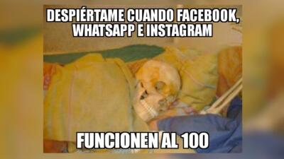 ¡El apocalipsis! Memes de la caída global de Facebook, Instagram y WhatsApp