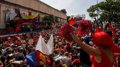 Venezuela marcha contra el gobierno del presidente Nicolás Maduro
