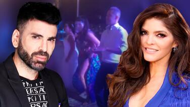 Jomari Goyso le deja claro a Ana Bárbara qué pasará si no le envía la invitación a su boda