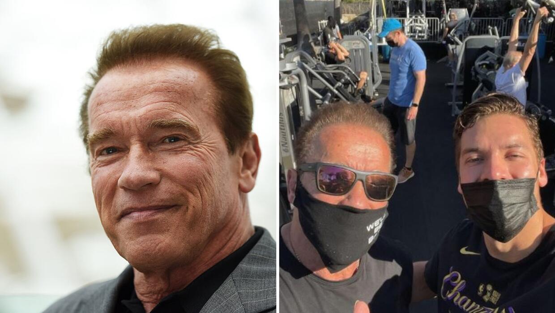 Él es Joseph Baena, el hijo de origen latino de Arnold Schwarzenegger que es igualito a él: fotos