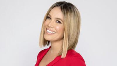 Karla Martínez, copresentadora Despierta América