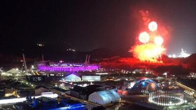 El espectacular timelapse del cierre de los Juegos Olímpicos de Invierno en Pyeongchang