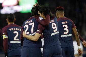 El Strasbourg fue la víctima del PSG para tomar ánimo después de perder con el Madrid