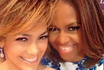 ¡Flash, flash! La selfie de Jlo y Michelle