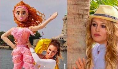 """""""¿Están ahí mis vidas?"""": los memes que le hicieron a Thalía por su cómico video"""