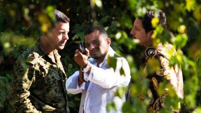 Óscar Lucio y Salvador Moreno encontraron al hombre que asesinará a Yolanda
