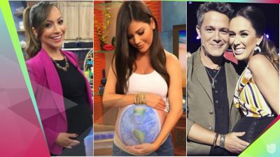 Casi tienen sus bebés al aire: famosas que dieron a luz mientras trabajaban en TV