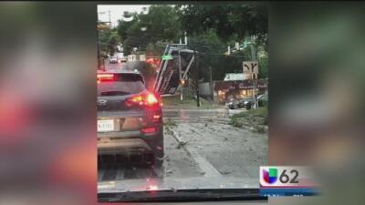 Fuertes lluvias causan daños en la capital de Texas