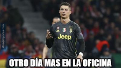 Memes de Cristiano Ronaldo, Messi, Barcelona, Juventus y los Cuartos de Final de Champions