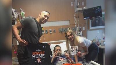 """""""Jalen recibió sus alas de ángel esta mañana"""", dice madre del fan de Carlos Correa que sufría cáncer"""
