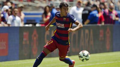 Rafinha recibe el alta médica tras medio año lesionado con el Barcelona