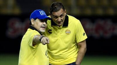 Diego Maradona es suspendido y no podrá dirigir en los Cuartos de Final del Ascenso MX