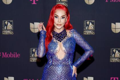 MIAMI, FLORIDA - FEBRUARY 18: Ivy Queen attends Univision's 33rd Edition of Premio Lo Nuestro a la Música Latina at AmericanAirlines Arena on February 18, 2021 in Miami, Florida. (Photo by Alexander Tamargo/Getty Images for Univision)