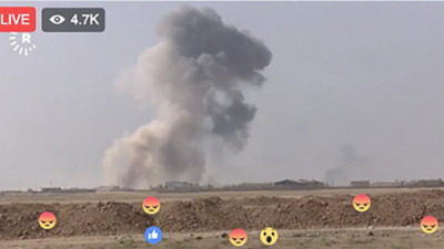 La guerra en tiempos de Facebook Live: la batalla de Mosul se está transmitiendo en vivo