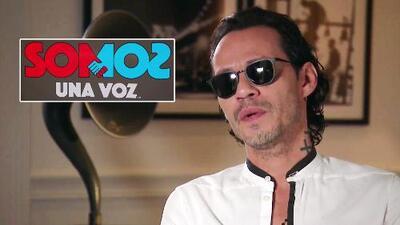 Marc Anthony reveló detalles de lo veremos en el magno concierto 'Somos Una Voz'