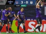 Mazatlán no tuvo piedad y le metió 3-0 a un disminuido Querétaro