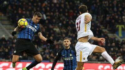 Inter y Roma empatan, se alejan del Nápoles y Moreno sigue sin jugar