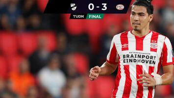Erick Gutiérrez tuvo minutos en triunfo del PSV ante el Verl