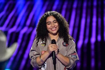 Esta dominicana de 27 años cantó 'I like it like that'.