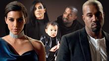 Kanye West responde a la demanda de divorcio de Kim Kardashian: pide la custodia compartida de sus 4 hijos