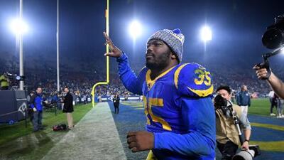 """C.J. Anderson, feliz en Rams: """"Soy el corredor más fresco en la NFL"""""""